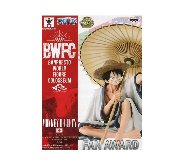 ONE PIECE - SCultures World 2018 Vol.6 Monkey D. Luffy Pvc Figure
