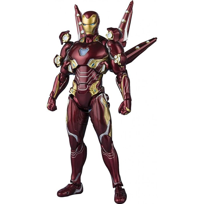 Avengers Infinity War Iron Man Mk-50 Nano-ARME SH Figuarts Action Figure