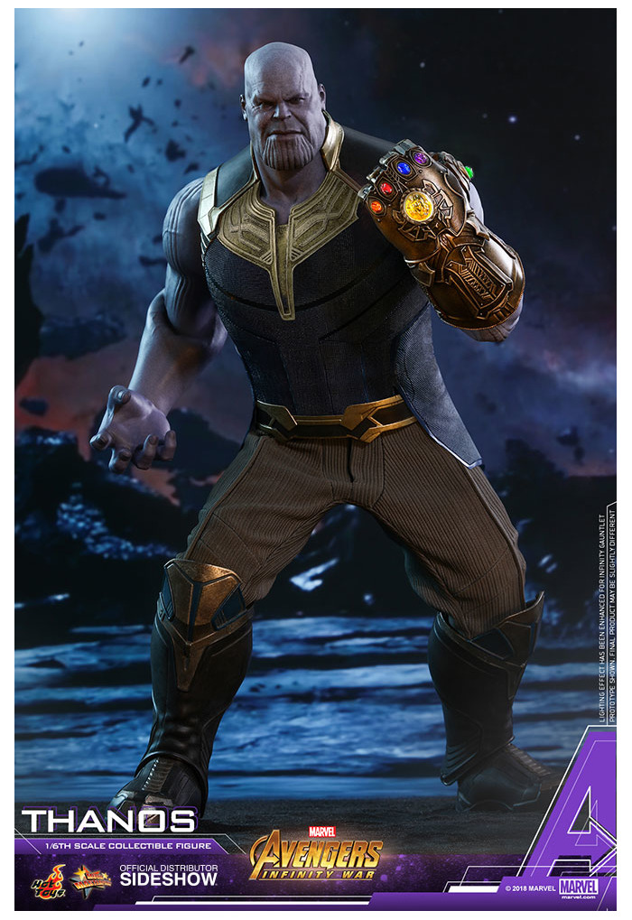 MARVEL - Avengers Infinity - Thanos 1/6 Action Figure Diecast MMS479