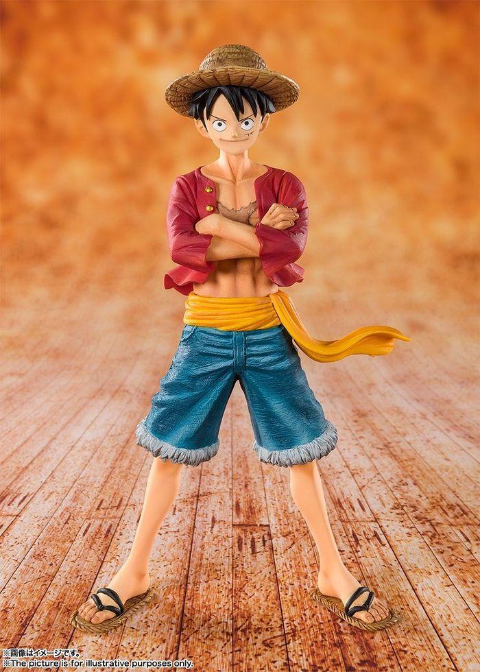 One Piece Figuarts Zero Straw Hat Monkey D Luffy Static Figure