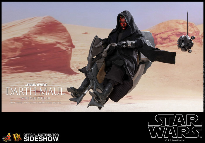 Hot Toys Dx17 STAR WARS EPISODE I DARTH MAUL 1//6 Sith Probe Droid