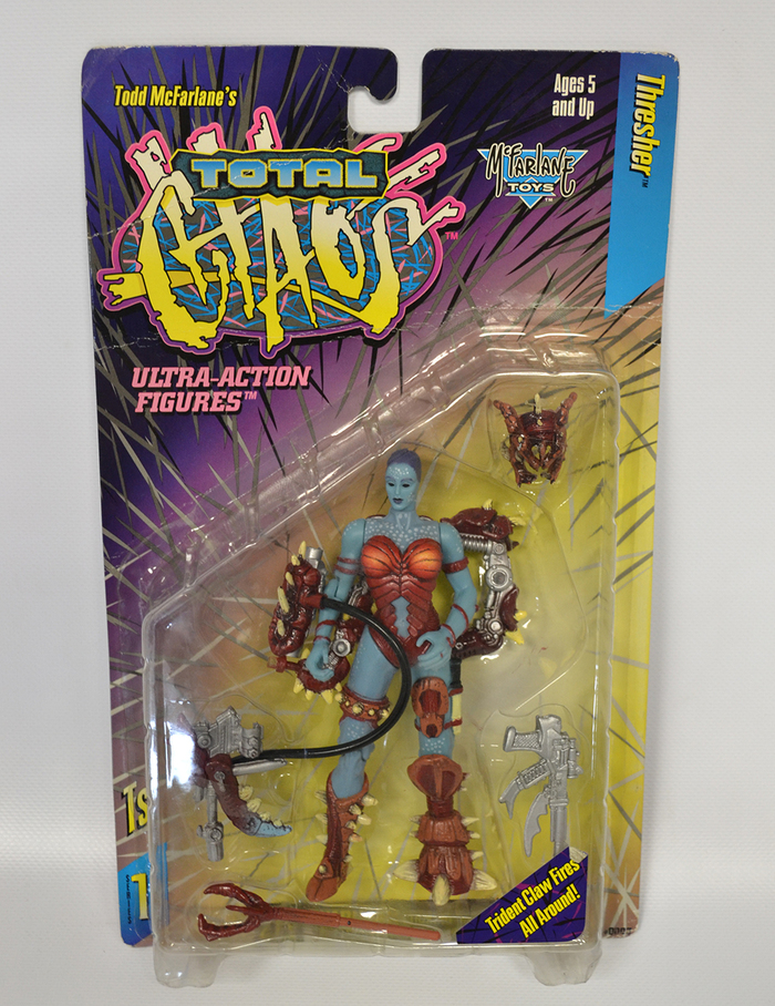 TOTAL CHAOS - Thresher Action Figure