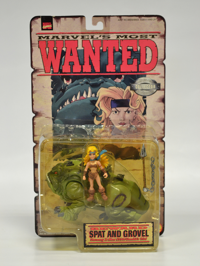 MARVEL - Most Wanted - Uncanny X-Men 1998 Spat & Grovel Action Figure