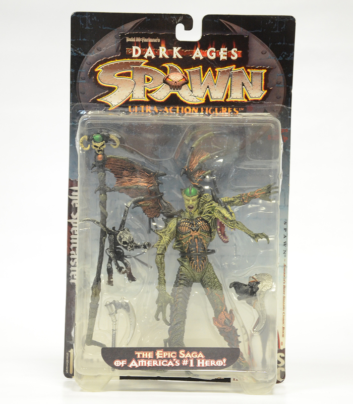 SPAWN - Dark Ages - The Spellcaster Action Figure