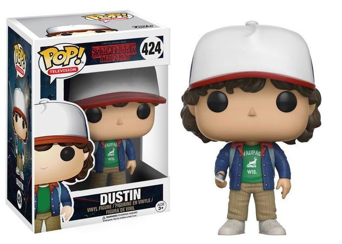 POP! Television #424 - Stranger Things - Dustin Vinyl Figure