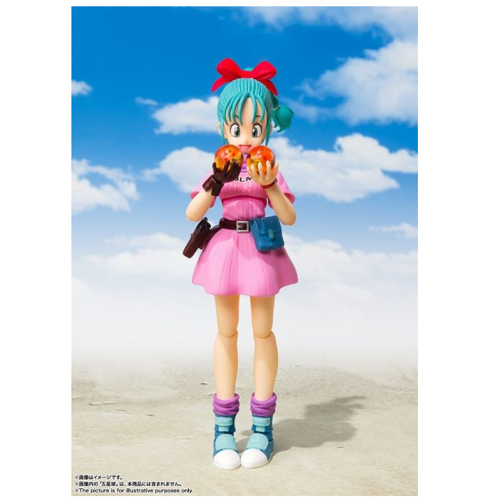 Bandai S.H Beginning of a Great Adventure Figuarts Dragon Ball Bulma