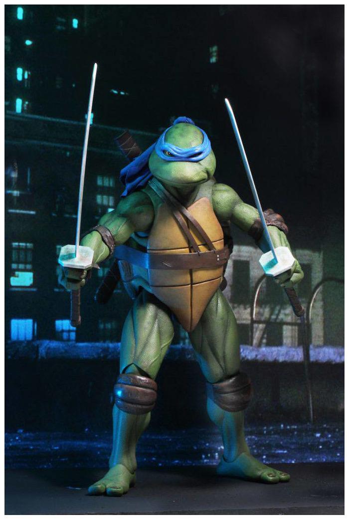 Tmnt Ninja Turtles 1990 Movie Leonardo 1 4 Action Figure Varie