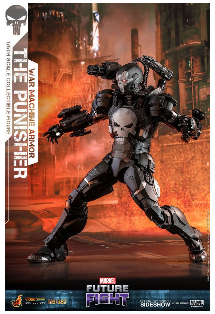 "MARVEL -  Future Fight - The Punisher War Machine Armor 1/6 Action Figure 12"" VGM33D28"